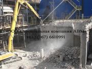 Демонтажные работы демонтаж снос зданий слом строений реконструкция